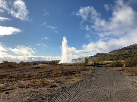 There she blows! Geysir, Iceland.