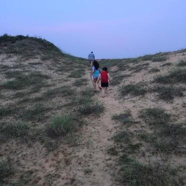 Climbing up the dune of doom