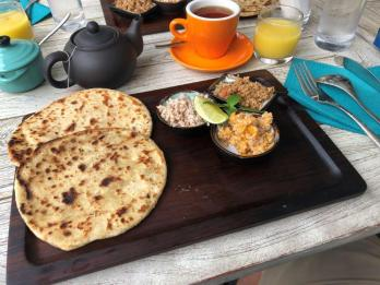 Tasty Maldivian breakfast